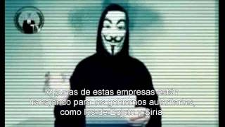 Anonymous amenaza a Facebook  ╩ (español) ╩ (aniquilacion total)