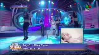 Angela Torres es Miley Cirus   We can stop