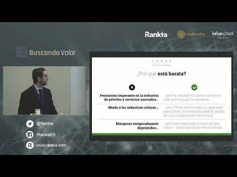 Juan Huerta de Soto, de Cobas AM, nos presenta su tesis de inversión en Técnicas Reunidas durante el evento Buscando Valor Barcelona 2019, organizado por Rankia. Juan nos expone por qué Técnicas Reunidas es una empresa en la que merece la pena invertir respaldándose en el análisis fundamental.
