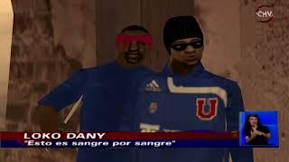 Noticias Chilevisión version GTA san Andreas