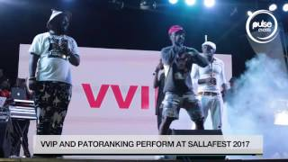 VVIP And Patoranking Rock Sallafest | Pulse Events