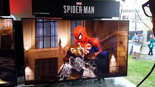 Spider-Man PS4 - Shocker Boss Fight Gameplay