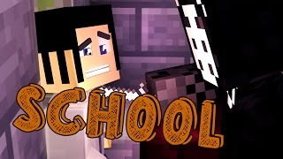 Minecraft School - LOCKED IN WITH THE KILLER! #54 | Minecraft Roleplay