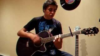 Sexy Bitch - David Guetta ft. Akon - Acoustic cover - Alex Russo