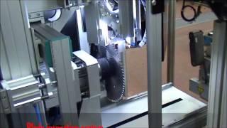Machine Vision- Saw Blade Inspection System using Machine Vision MV