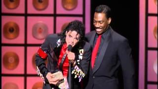 Michael Jackson Wins Lifetime Achievement Award - AMA 1989