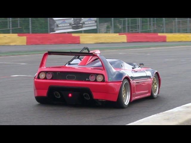 A very unique Ferrari 348 Barchetta Competizione!