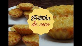 TORTINHA DE COCO | Bem Vindos à Cozinha | Receita 91