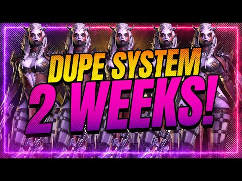 Dupe System FINAL COUNTDOWN! | RAID Shadow Legends
