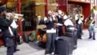 Hypnotic Brass Ensemble in NYC (Ballicki Bone)