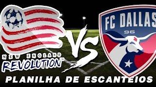 Trader Esportivo | Planilha de escanteios | Prova de eficiência | New England Revolution X FC Dallas