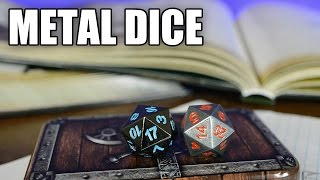 Skull Splitter Metal Polyhedral Dice Review