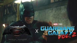 Batman v Superman Warehouse Fight Scene (GOTG Vol. 2 Opening Style)