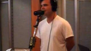 "Future Islands performing ""As I Fall"" on KCRW"