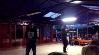 HISHAAM feat. TRITO live 1 ( biela labuť ) 31.5.2014
