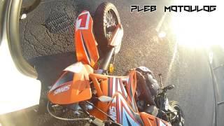 Morning shenanigans - bike lowside crash