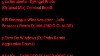 tracklist musica de antro diciembre 2012 - enero 2013 (dj gibrand reyes)