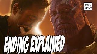 Infinity War Ending Explained | Captain Marvel in Avengers 4 width=