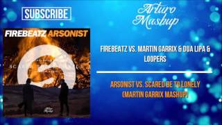 Arsonist vs. Scared Be To Lonely (Martin Garrix Mashup)