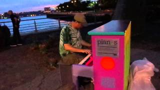 """Russians"" by Sting (Piano Cover) - Chelsea Piers, NYC"
