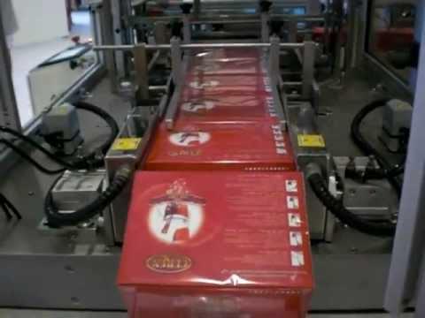 Unlu Makina Ltd Tea Box Overwrapping Machine - Çay Ambalaj Paketleme Makinasi