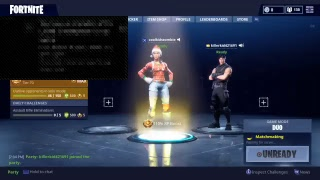 Fortnite/dou´s with my cousin Daniel