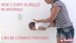 Manobra de Heimlich - Como desengasgar bebê