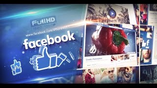 My Facebook | After Effects template
