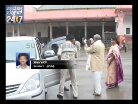 (KPCC) president Dr G. Parameshwar visit Siddaganga mutta - Suvarna news