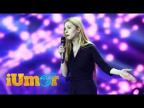 Alina Păduraru, număr de stand up comedy la iUmor