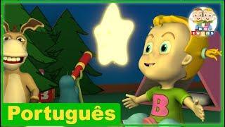 Brilha, Brilha lá no céu | Canções Creche Pré-Escolar | BBtwins | Vídeos HD | Português