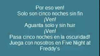 Letra: Five Nights at Freddy's Rap Zarcort & Kronno (Descarga incluida)