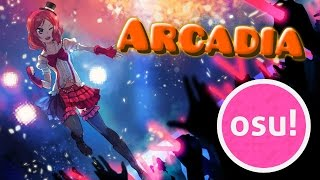 [Osu!] Hardwell & Joey Dale feat. Luciana - Arcadia | 2 Stars | Rank S | HR | Shadren's Normal