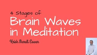 4 stages of brain waves during Kundalini Meditation