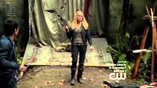 Bellarke - 'I'll see what I can do' + Badass Clarke + Bellamy protecting his Princess (01x10)