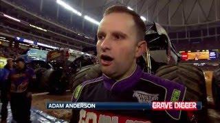 Adam Anderson - Exclusive interview with Grave Digger driver in Atlanta, GA!