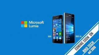 LUMIA 950 &950 XL COMING SOON