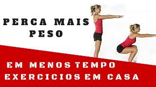 Exercicios fisicos para Perder Barriga - Treino H I I T
