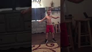 Chance Fleetwood dancing to Lecrae's Cry for you