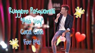 """Ruggero Pasquarelli  """"Alla Voy""""  Coca Cola For Me.🎶❤🔥"""