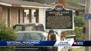 Medgar Evers' Jackson home designated as national monument