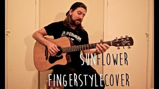 Sunflower (Swae Lee & Post Malone) - Fingerstyle Guitar Cover