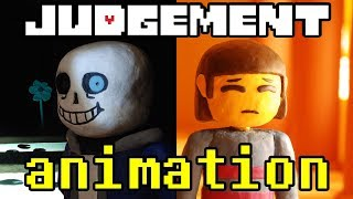 Judgement - (Undertale Song by TryHardNinja) Stop Motion Animation