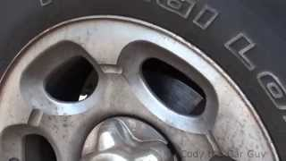 When you hit the brakes and hear grinding well check those rotors