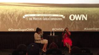 An Afternoon with Ava DuVernay and the cast of Queen Sugar at the Writers Guild Foundation width=