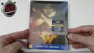 Unboxing Blu-ray STEELBOOK  MULHER-MARAVILHA.