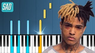"XXXTENTACION - ""SAD"" Piano Tutorial - Chords - How To Play - Cover"