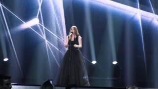 ESCKAZ in Kyiv:Blanche (Belgium) Dress Rehearsal City Lights