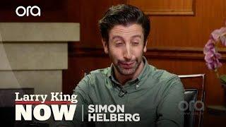 Simon Helberg imitates Nic Cage, Al Pacino, and Billy Baldwin...again! | Larry King Now | Ora.TV
