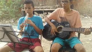 Velha infância (cover) flauta doce e violão 😉